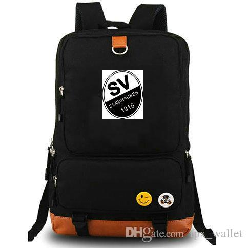 Zaino Sandhausen Hardt zainetto SV Calcio raffreddare il computer interstrato zainetto sacchetto di scuola calcio giorno pacchetto Sport zaino esterno
