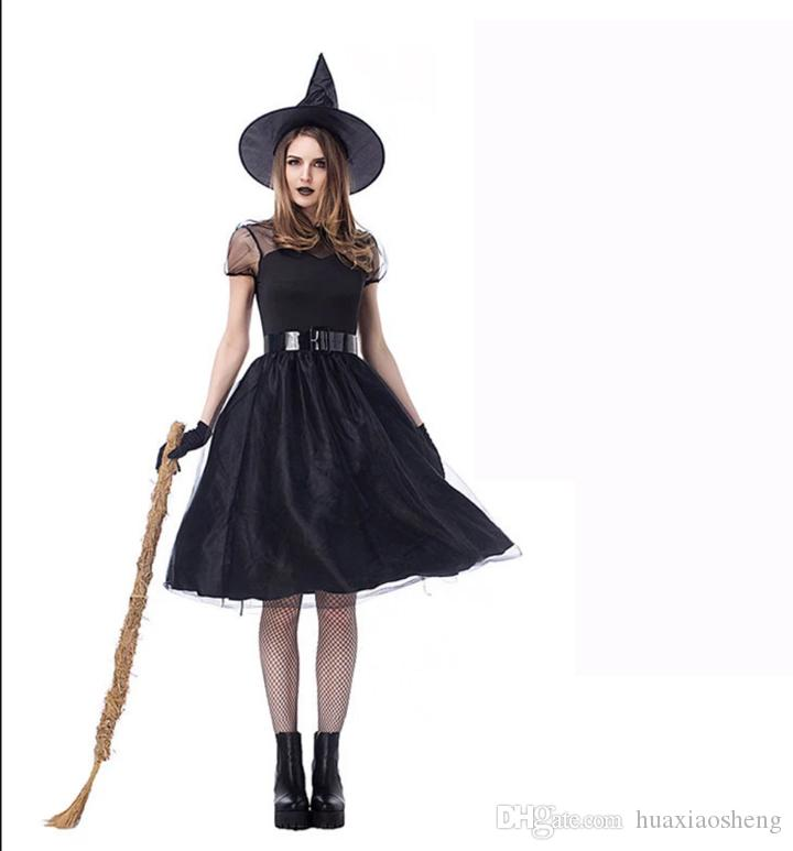 Halloween Costume Adult Witch Cosplay Bat Little Red Riding Hood Vampire Princess Costume Scary Horror Costume Free Shipping
