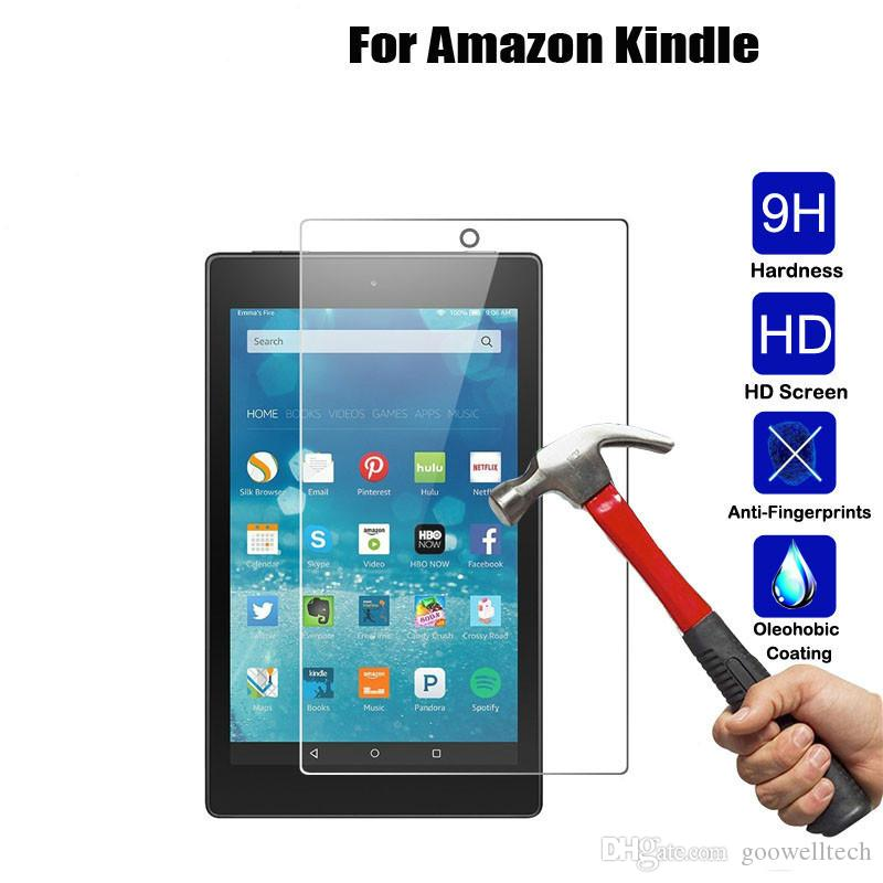 9H+Tempered Glass Film Screen Protector Cover For Amazon Kindle fire 7 2017 7.0