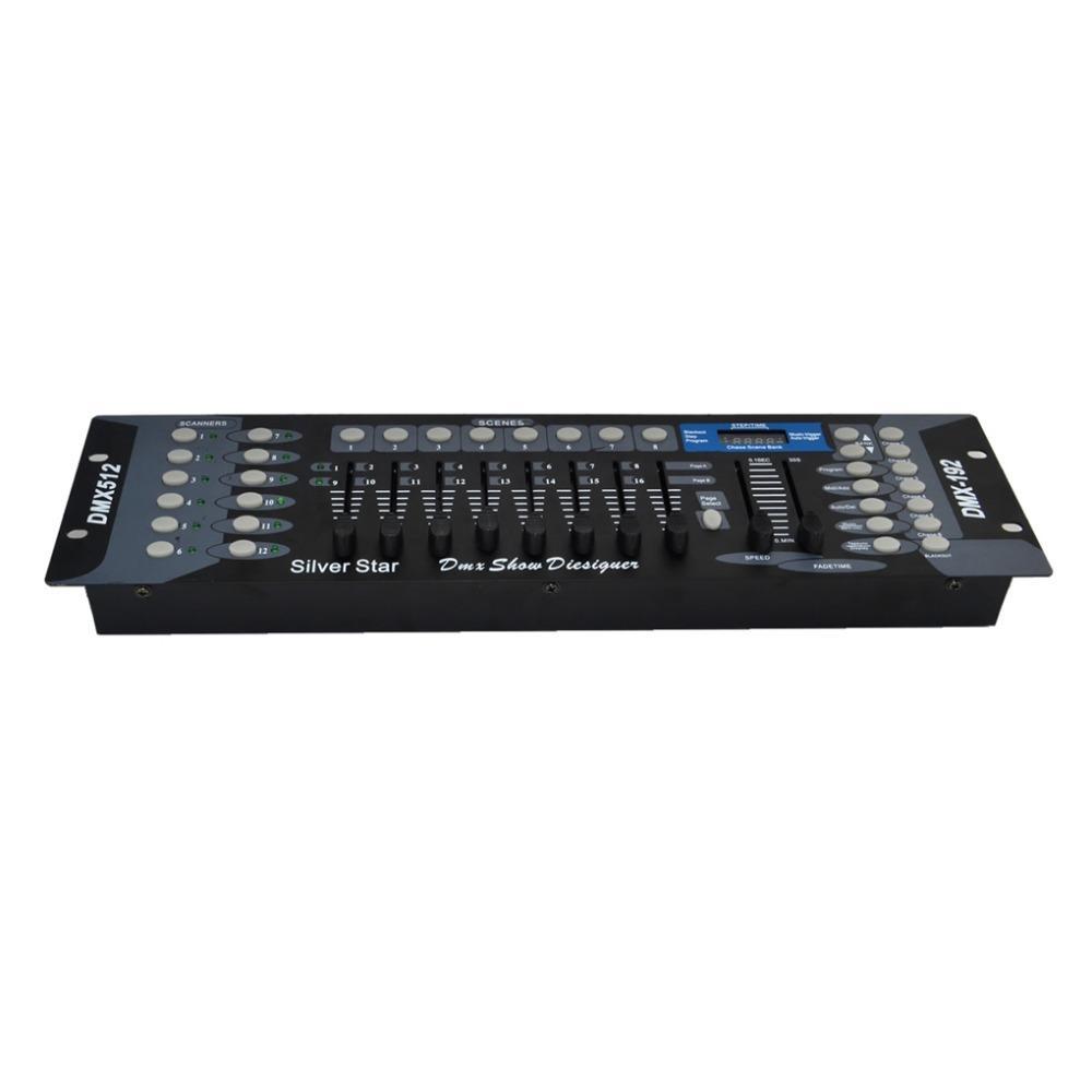 192 무대 조명 부품 조명 DMX 컨트롤러 DMX 콘솔 운영자 DMX192