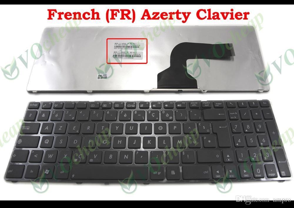 New FR notebook Laptop keyboard for Asus K72JT K72JK N61Ja N61Jv N61VG N61VN U50Vg UL50Ag UL50At UL50Vs UL50Vt UL50Vg K52D K52DE AZERTY