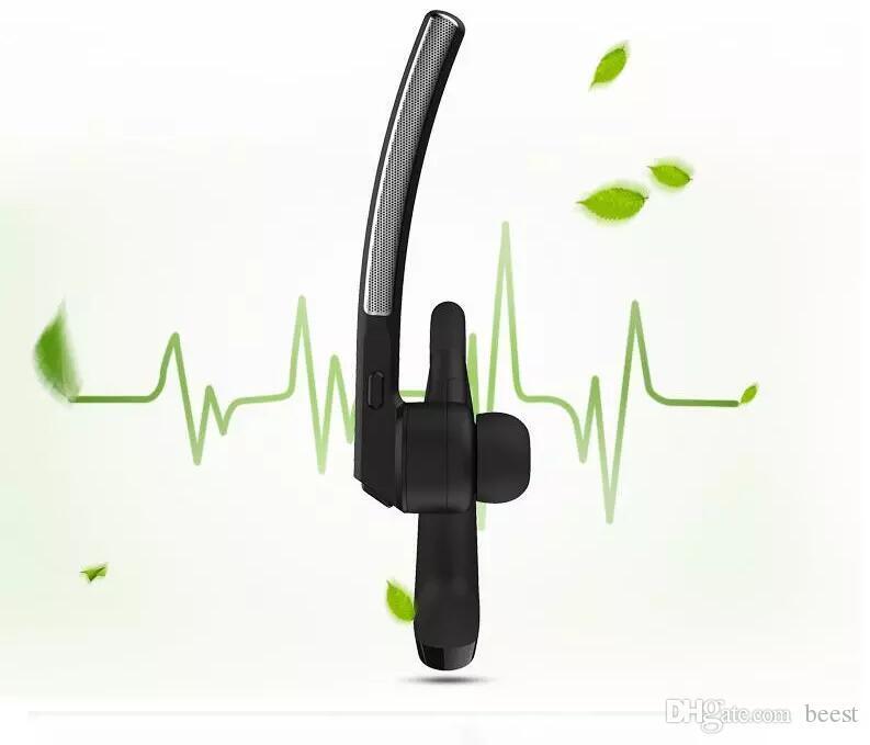 Fone de ouvido bluetooth fone de ouvido csr4.2 negócios estéreo fones de ouvido com microfone sem fio universal fone de ouvido de voz com caixa pacote