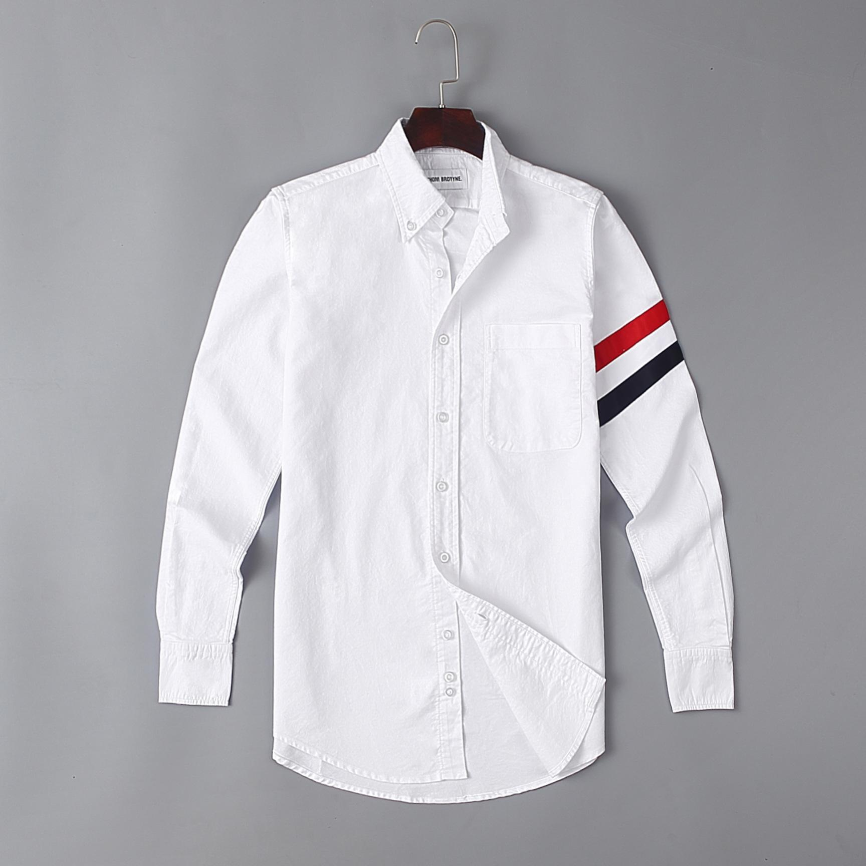 Mode homme THOM TB Shirt t-shirts homme design BROWNE SUMMER T-shirts manches longues design homme homme taille 0-3