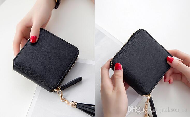 2017 nouvelles dames portefeuille longue section féminine du Japon et de Corée du Sud étudiants personnalité simple sac d'embrayage portefeuille mince multi-fonctionnel.