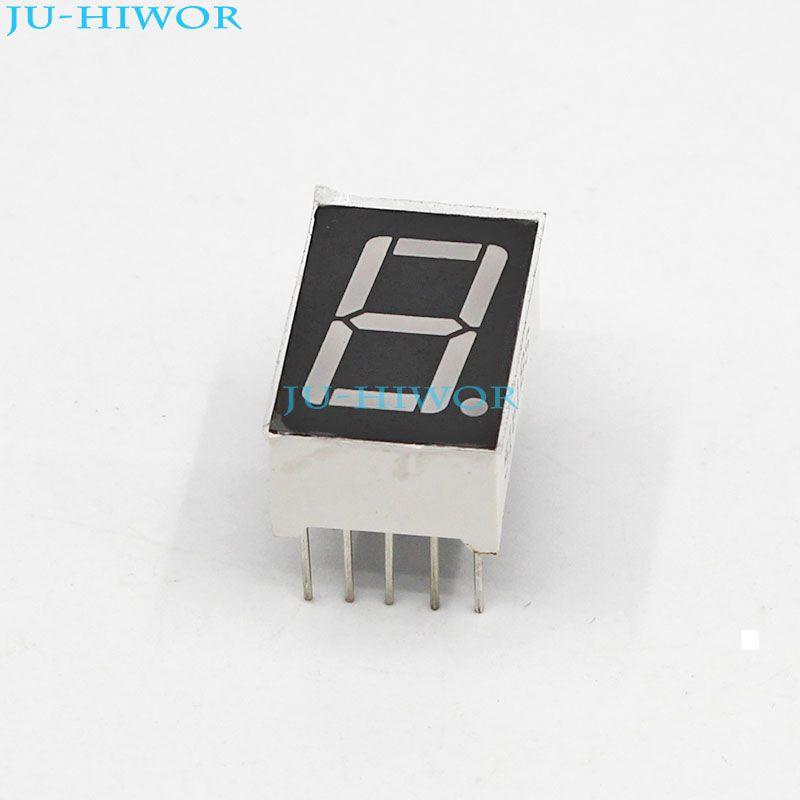 "10PCS 0.56/"" 7 Segment Red LED Display 1 Digit Common Anode UK"