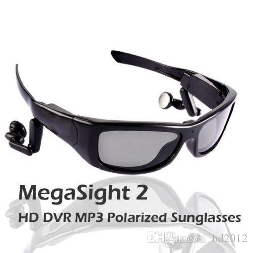 نظارة شمسية رياضية MV16GB MEGASight 3 مستقطبة مع كاميرا فيديو HD 720 مدمجة