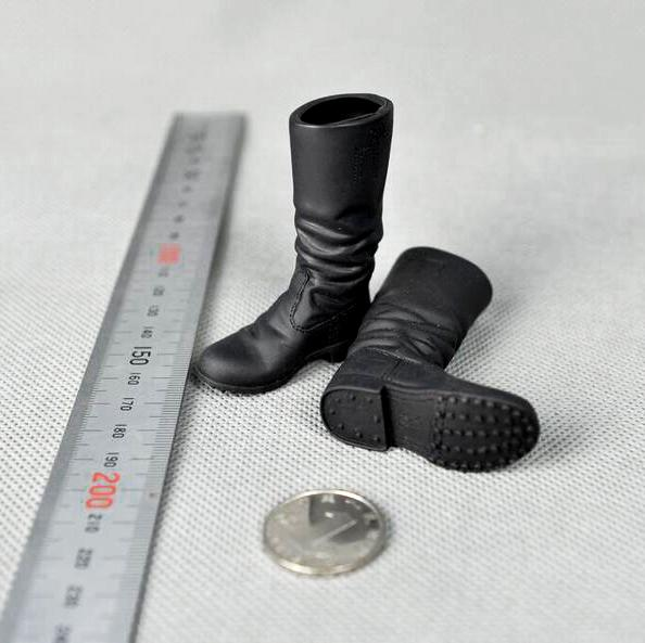 """1//6 Scale Cowboy Boots Model  for 12/"""" Action Figure"""
