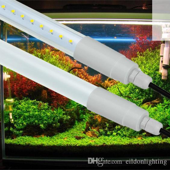 T8 IP65 튜브 4피트 3피트 2피트 DC12-24V AC85-265V 9-18W 방수 LED 조명 85-90LM 냉장 Blubs 쿨 화이트 램프 직접 중국 심천