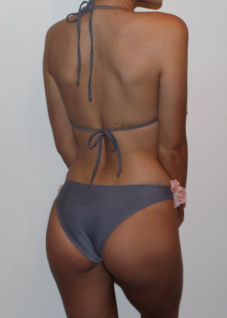 women flower bikini