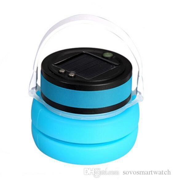 SOVO Novelty Portable Sports Cup LED Solar Light For Camping Hiking Outdoor Solar Table Lamp Garden Light USB Solar Powered Source