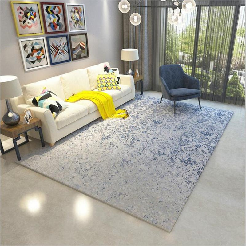 Nordic Hot Sale Soft Polyester Delicate Carpets For Living Room Bedroom  Carpet Home Rugs Floor Area Rug New Fashion Door Mat Rug Shaw Carpet Colors  ...