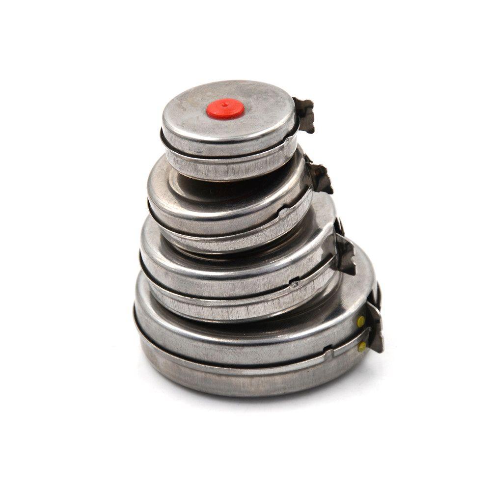 1m / 2m / 3m / 5m Mini Bande Rétractable pour Outils de Bricolage En Bois Acier Inoxydable Bureau Usine