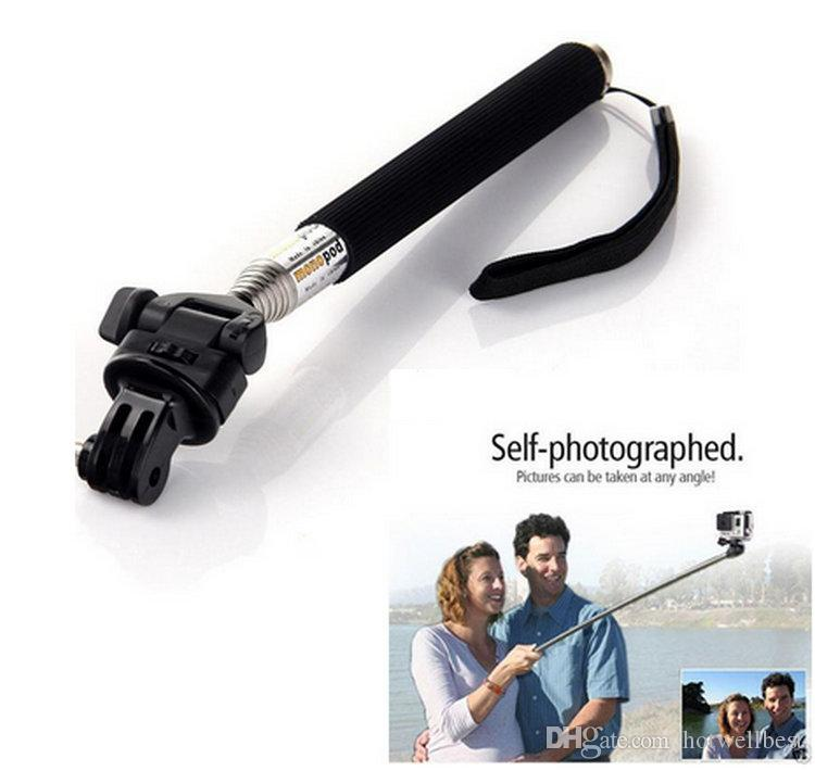 Camera Selfie Monopod Handheld Tripod high quality best price for sport cameras 3 colors