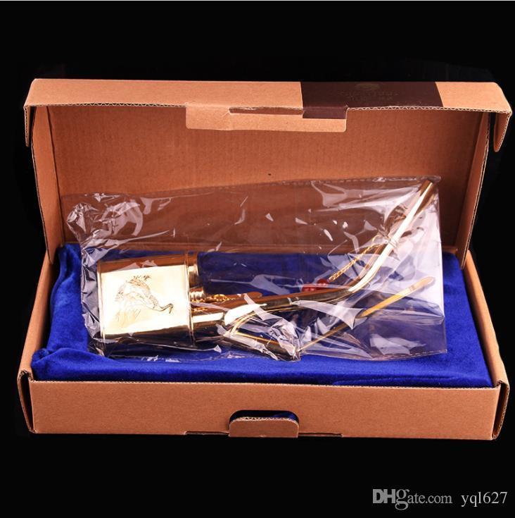 Botella de agua retro, colgante de cobre puro, cubeta de doble uso, filtro de agua, venta al por mayor, una caja de regalo