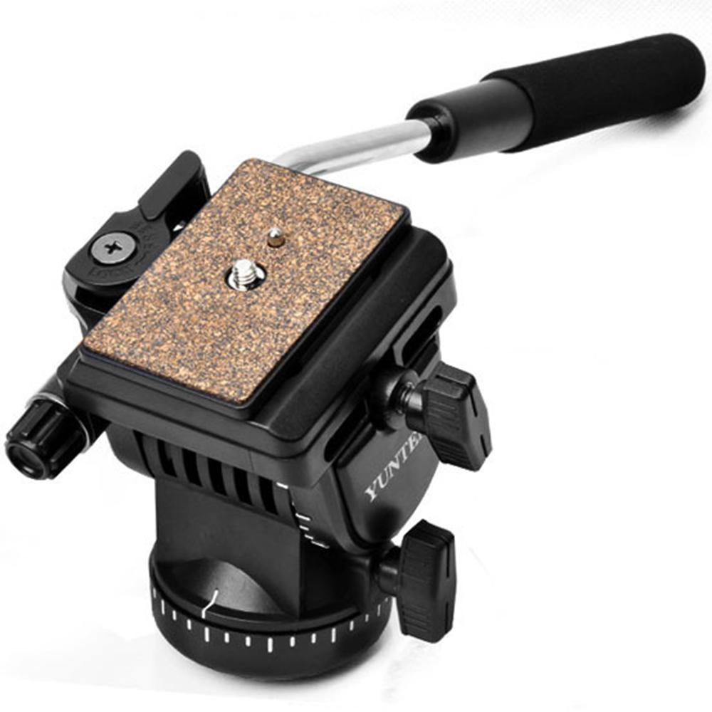 Pro YunTeng YT-950 Tripod Photography Hydraulic Pressure Fluid Tripod Head For Shooting Filming Studio Video DSLR DV Camera New
