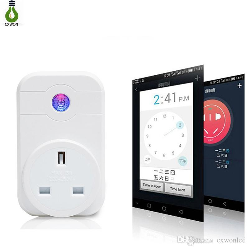 Intelligent Smart Home Power Wifi Smart Socket Adapter EU US UK Plug Outlet Switch Wireless Time Schedule Phone Remote Control