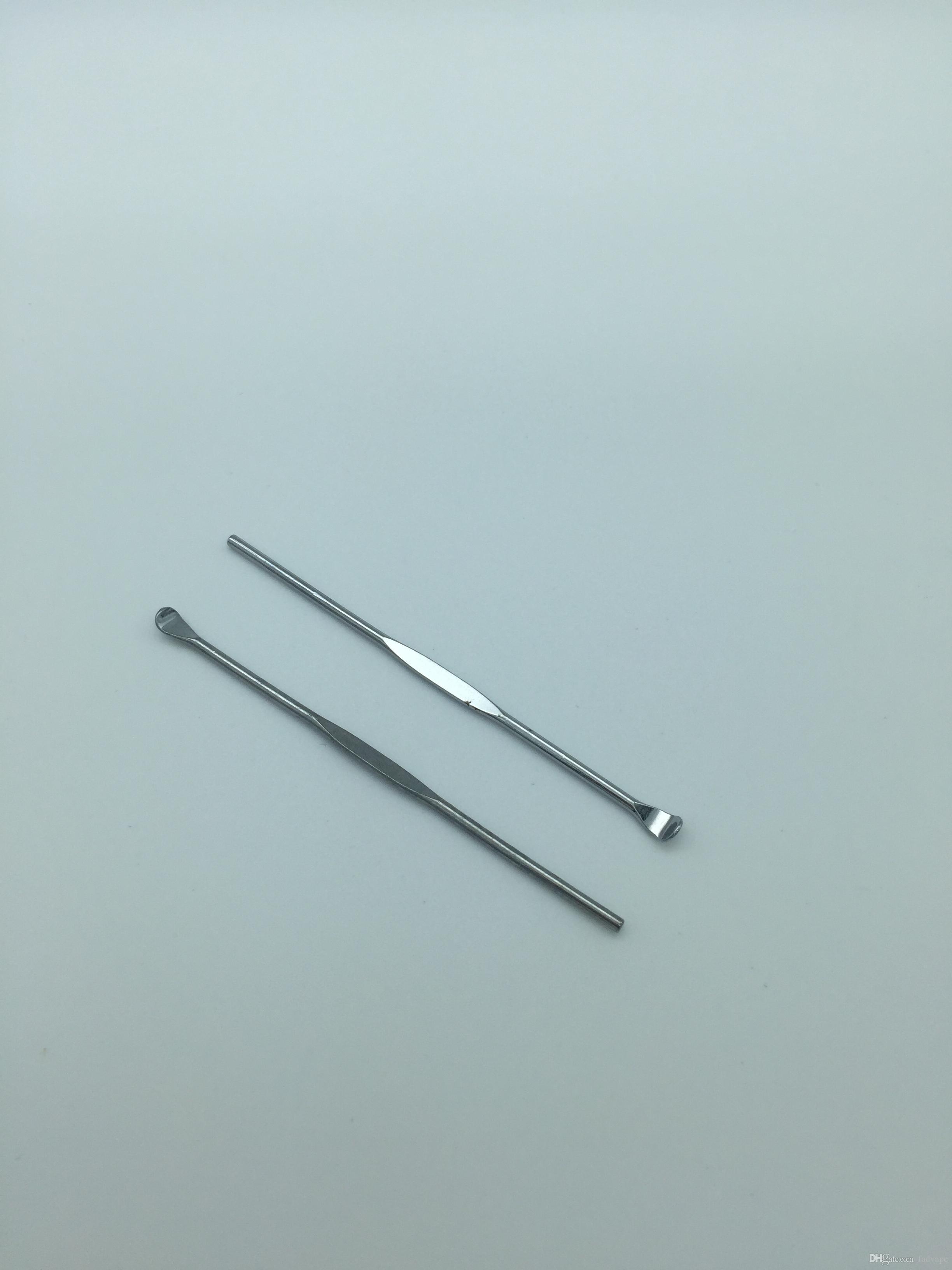 Küçük dab aracı metal dabber wax araçları paslanmaz çelik toptan fiyat ile buharlaştırıcı için dabbing çıkartmalar