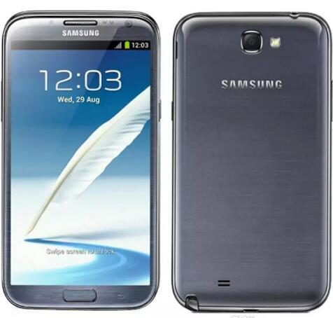 تم تجديده سامسونج غالاكسي ملاحظة 2 N7100 5.5 بوصة رباعية النواة 2GB 16GB 4GLTE الأصل LCD الهاتف الذكي