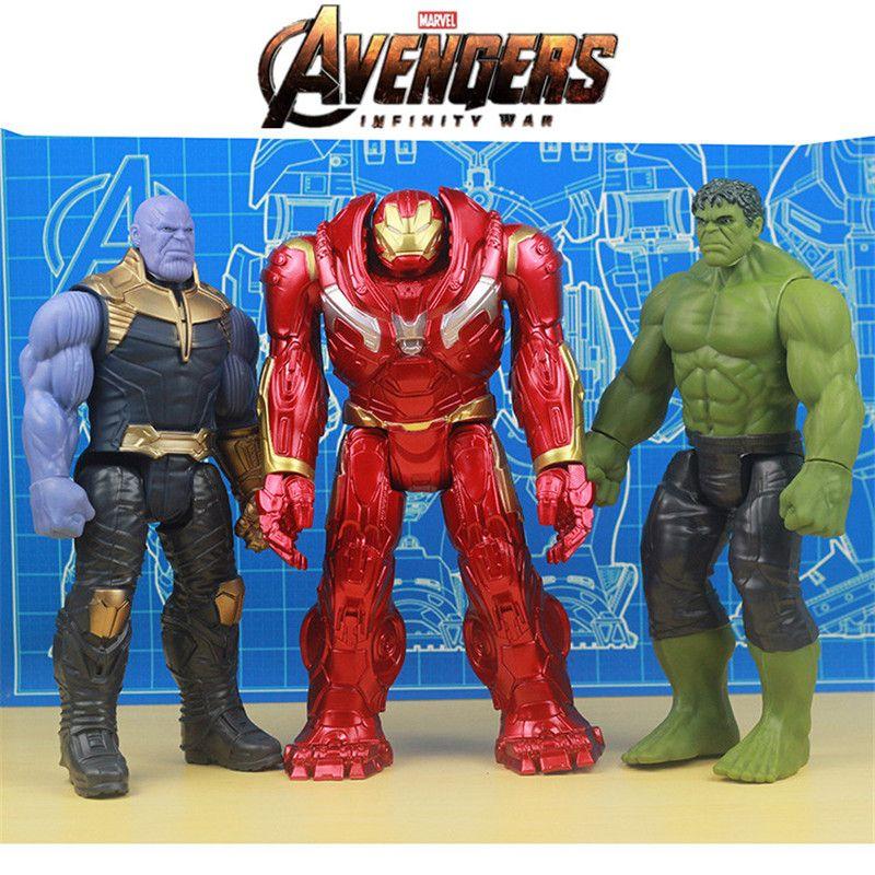 Avengers 3 Infinity War Marvel Super Hero PVC Action Figure Toys Kids Doll-Iron