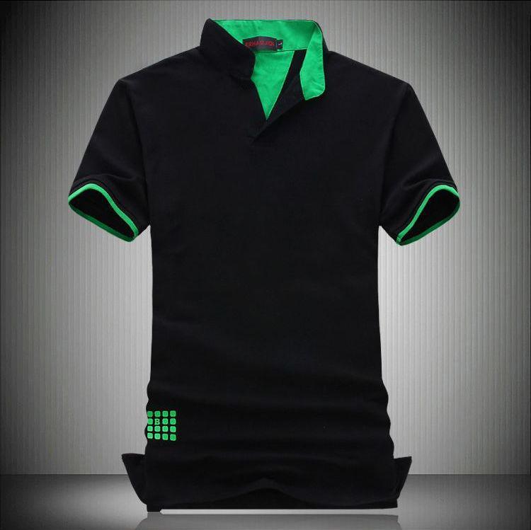 Fashion Designer Manica Corta Polo Uomini cotone di polo Camisa Polo Masculina Man Plus Size 7XL 6XL 5XL 4XL XXL XXXL -M 3 colori