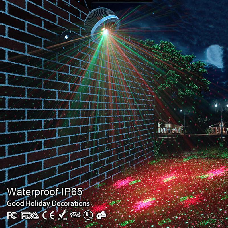Star laser exterieur