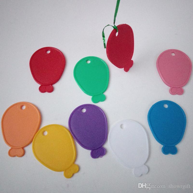 Neue Produktionsballonform / Fischform Anhänger Helium-Luftballons Schwerer Block Kunststoff Gewichte Party Supplies Hochzeit Dekorationen