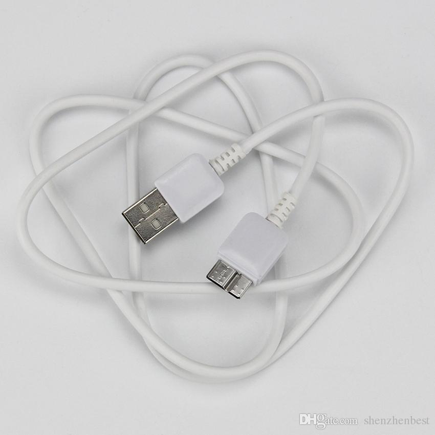 200pcs / lot de alta calidad para la nota 3 USB 2.0 Cable USB Micro B Cable de datos para la nota 3 S5
