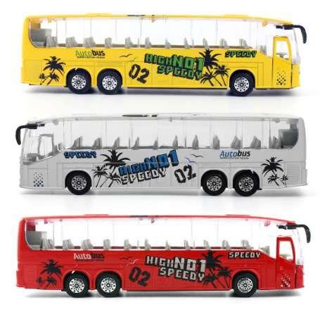 Feichao 1: 50 литья под давлением автомобилей металлические модели автомобилей игрушки сплава автобус игрушка с открывающимися дверями/музыка / свет функция для детей мальчиков