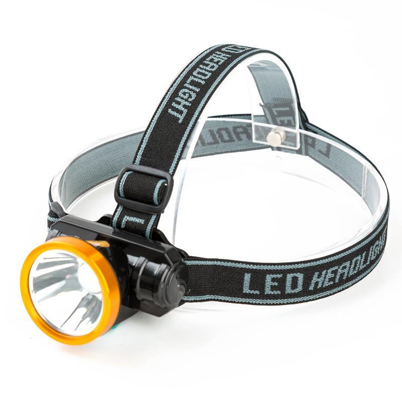 Phare lumineux lampe de pêche lampe de mineur lumineux charge longue distance lampe de poche super lumineux tête étanche monté