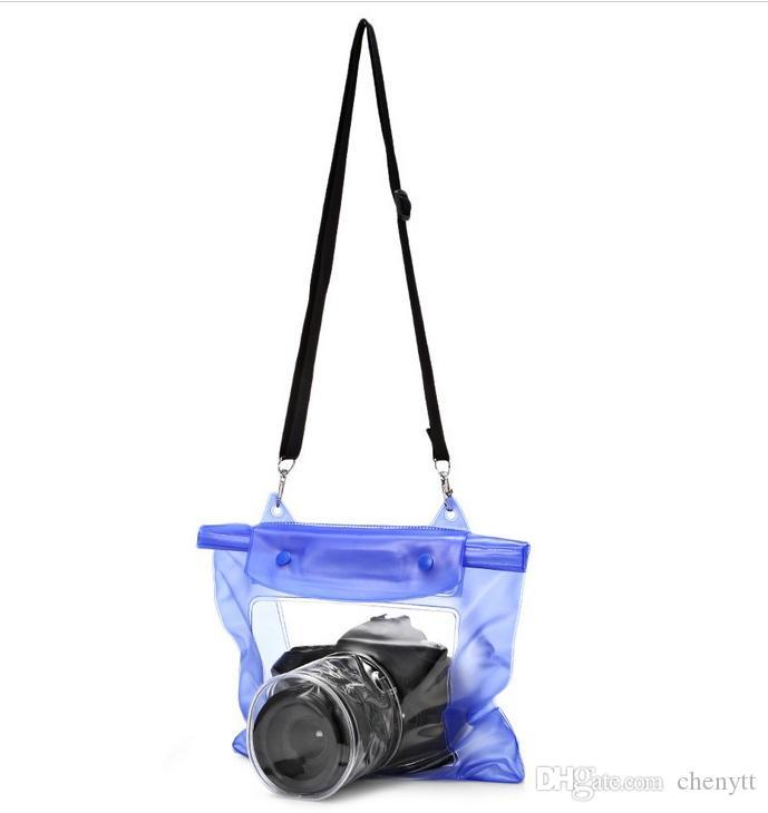 2018 صيف جديد أزياء شعبية الانجراف حقيبة كاميرا SLR كاميرا رقمية كيس ماء السباحة بركة ماء حقيبة الهاتف المحمول