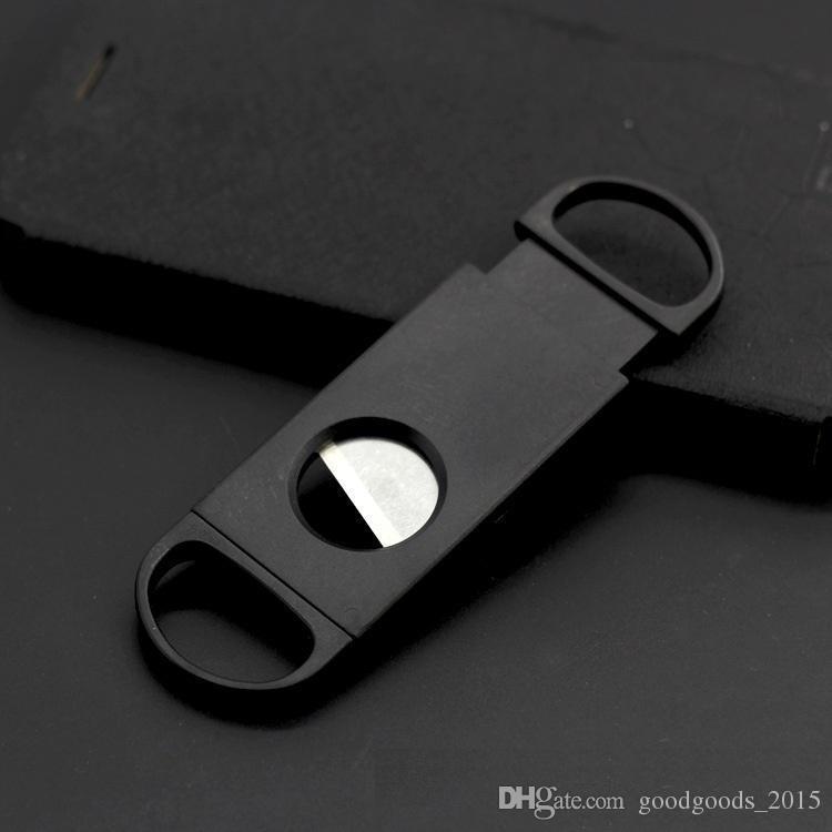 Cigar Cutter Plastic+Stainless Steel Blade Cigar Cutter Cigar Scissors Accessories Business Gift c205