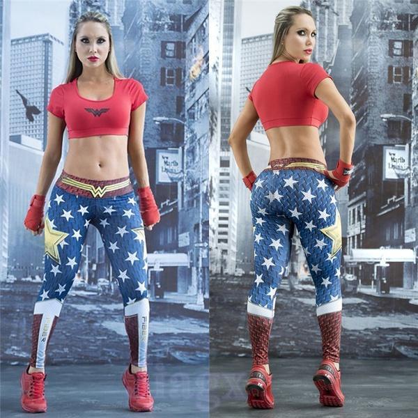 legging sport wonder woman