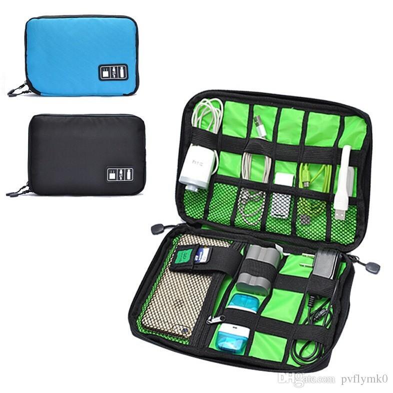 Leiouser Bolsa de almacenamiento para accesorios compatible con Nintend Switch Consola Accesorios Port/átil Bolsa de viaje Compatible con NS