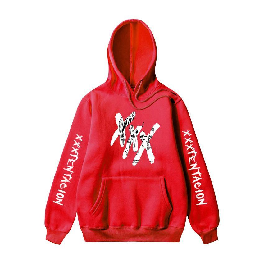 Revenge Kill Fashion Hoodie Hombre / Mujer Casual Hip Hop XXXTentacion Sudadera Vibes Forever Traje Fleece Pullover Hoody