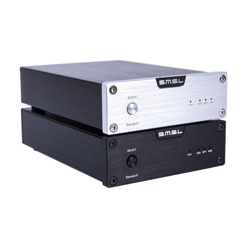 Freeshipping High Quanlity Sanskrit 6th WM8740 32Bit/192kHz USB DAC Coaxial Optical Hifi Digital Audio AMP Decoder with 9v Power Supply