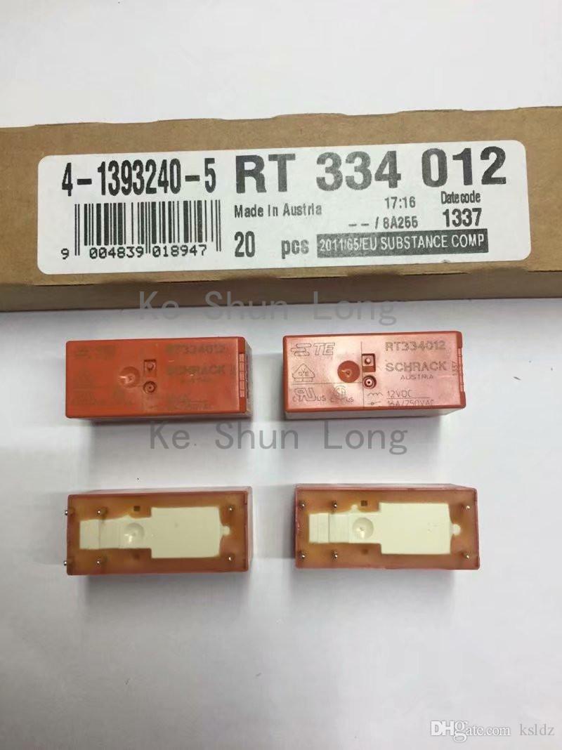 Бесплатная доставка много (5 шт. / Лот) 100% Оригинальный Новый TE TYCO SCHRACK RT334012 RT334024 16A / 250VAC 6PINS 12VDC 24VDC Реле Питания