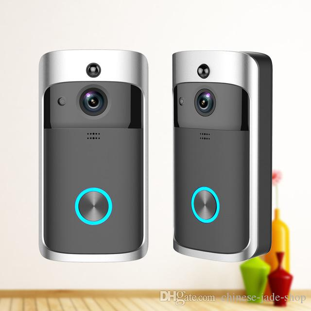M5 Wireless Video Doorbell WIFI Remote Intercom Detection Electronic HD Visible Monitor Night Vision 10pcs/lot