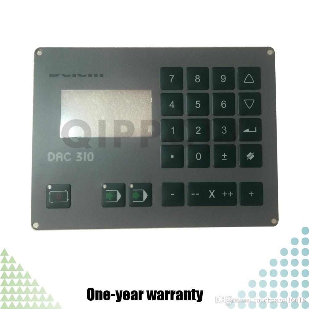 DELEM DAC-310 DAC310 DAC 310 Neue HMI-PLC-Membranschalter-Tastaturtastatur Industrielle Kontrollwartungsteile