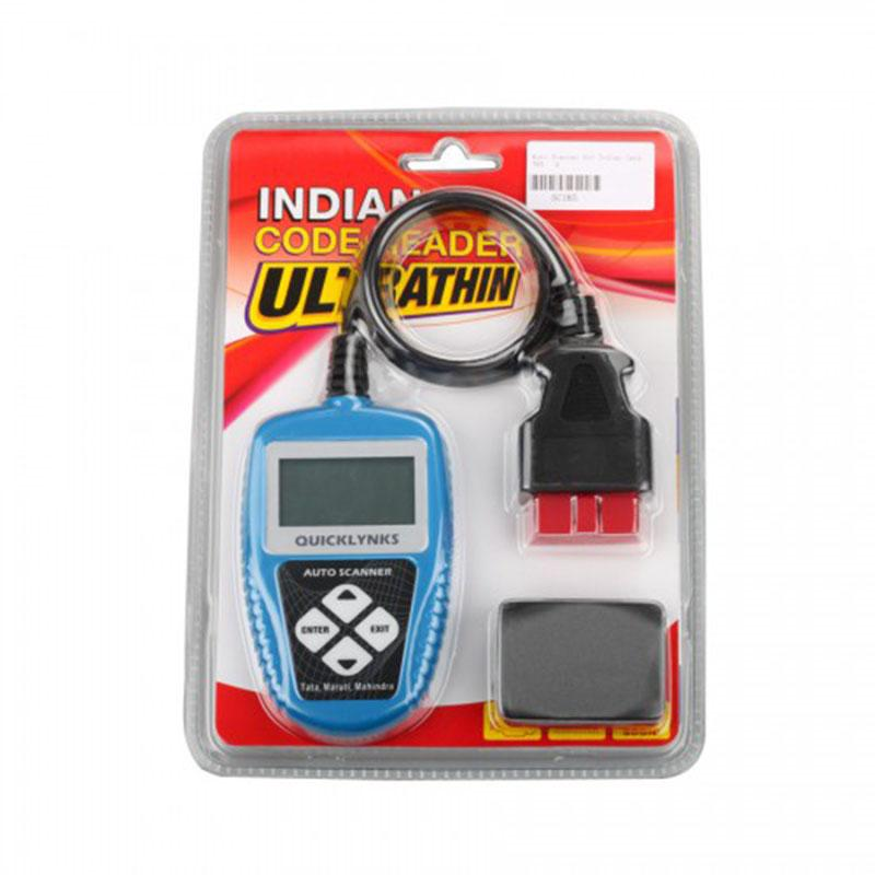 Auto Scanner for Indian Cars T65 for TATA/MARUTI/ MAHINDRA With 16 Pins OBDII Adapter