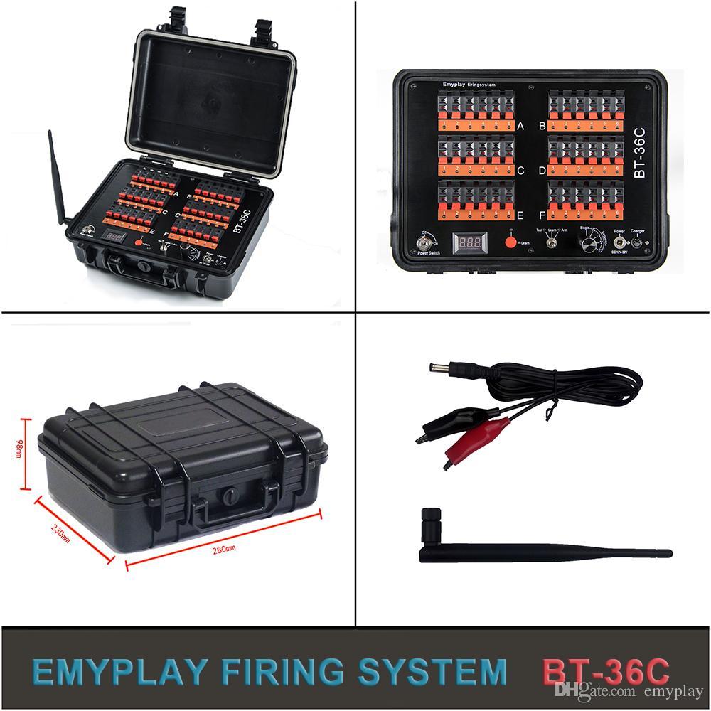 4 signal sans fil feux d/'artifice tir System GRATUIT 8 x 1 m Talon allumeurs