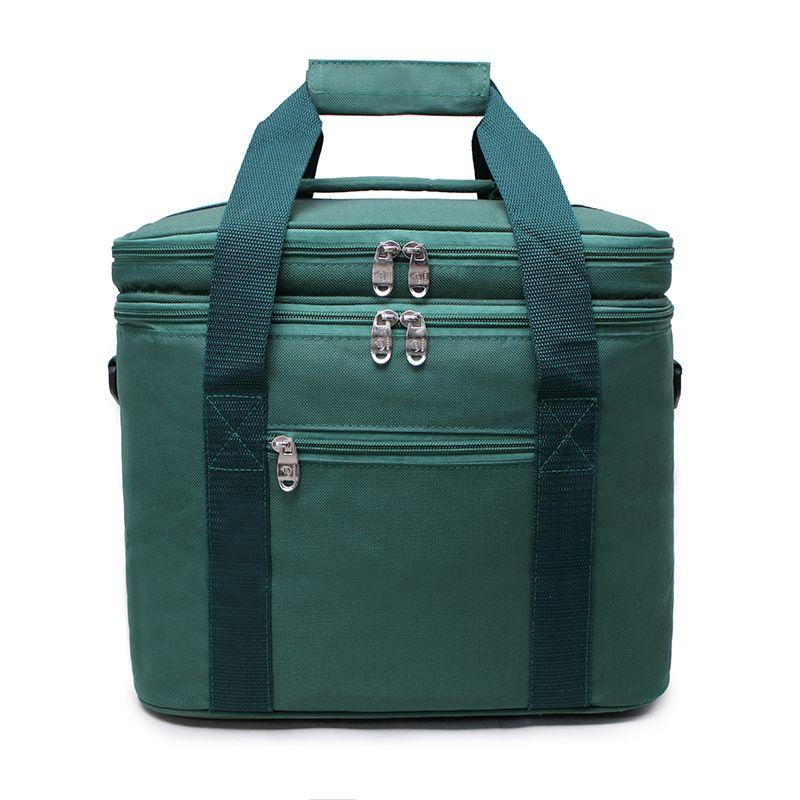 12x8x10in Déjeuner Glacière À Doux Côtés Pliable Déjeuner Tote Bag Organisateur De Déjeuner Portable Glacière Sacs pour Voyage, Plage, Camping