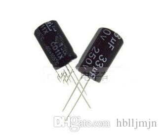 Condensadores electrolíticos 10PCS 33uF 250V 13X20MM