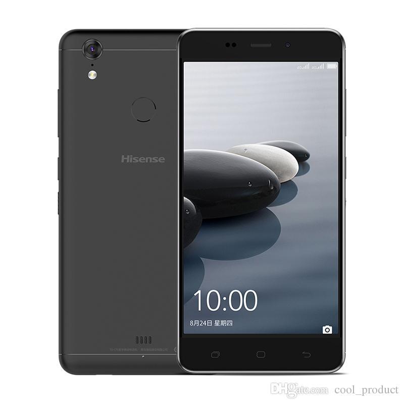 Original Hisense Dolphin Pro 4G LTE Telefone Celular 4 GB RAM 64 GB ROM Snapdragon 430 Octa Núcleo Android 5.0 polegadas 13MP ID da impressão digital Telefone Móvel