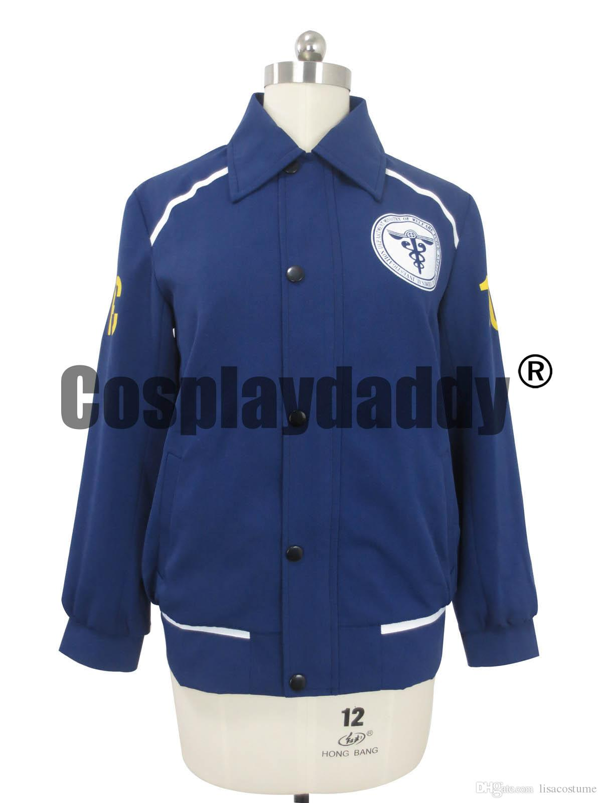 Psycho Pass Cosplay Monitoring Officer Chaqueta de traje