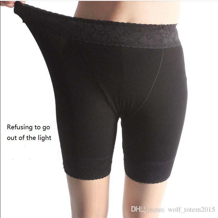 2018 модельные брюки безопасности, толстый мм большой код, анти легкие брюки безопасности, женское кружево, три брюки и бездонные брюки.