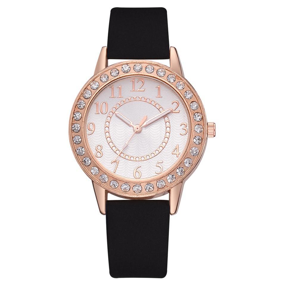 브랜드 가죽 스트랩 손목 시계 여성용 시계 여성용 시계 심플 패션 쿼츠 시계 여성 시계 몽트 훼뮈