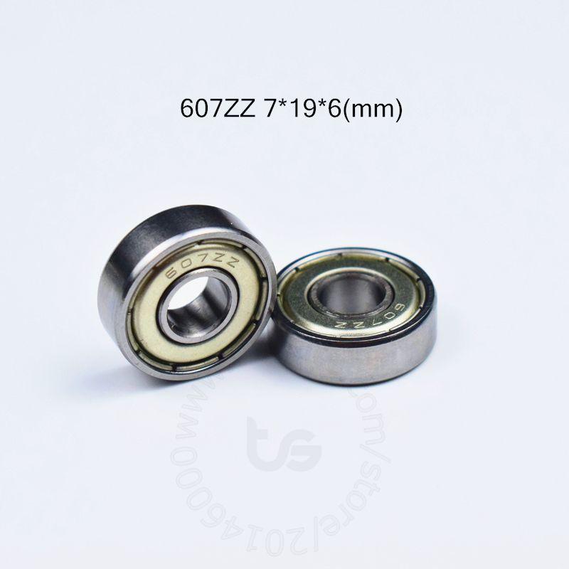 le métal de roulements étanches 607Z Miniature Mini Roulement 607 607Z 607ZZ 7 * 19 * 6 mm de palier en acier chromé