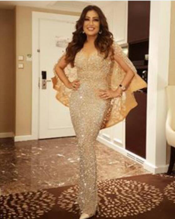 Вечернее платье с накидкой-футляром Милая Кристаллы Yousef aljasmi Пром Платье Бальное платье Cool Sexy Dazzling U