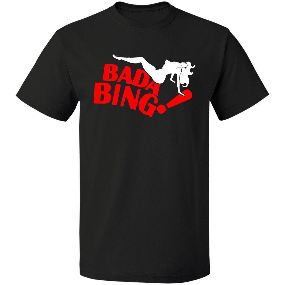 Bada Bing T Shirt Les Sopranos T Shirt Dvd Série Livraison Gratuite Taille S - 3xl Tops Été Cool Drôle T-shirt Intéressant