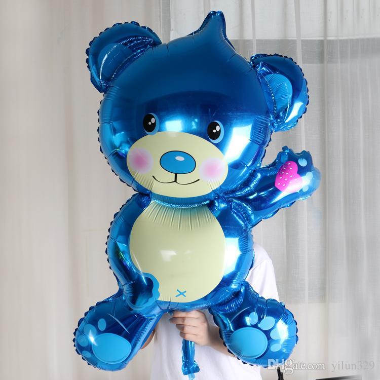 bär dekoration party dekoration geburtstag aufblasbare folie ballon 3d baby